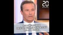 «C à Vous»: Nicolas Dupont-Aignan prié de quitter le plateau après avoir traité Patrick Cohen de «cireur de pompe de M. Macron»