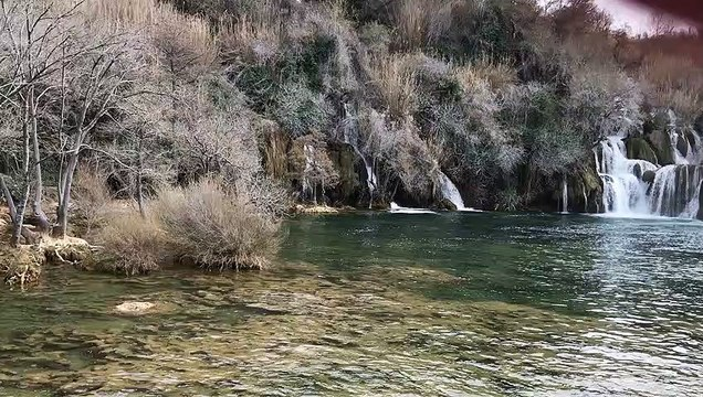 Water falls in Skradin