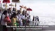 Thousands join Melasti 'purification' ritual in Bali
