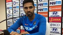 India Vs Australia 3rd ODI: Bhuvneshwar Kumar says not worried about World Cup squad|वनइंडिया हिंदी