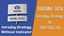 [English] TOOFANY TATA: Intraday Strategy on TATA STEEL - in English - TATA STEEL Intraday Strategy