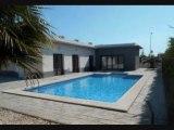 Espagne : Vente maison de plain-pied Vera Playa (Almeria) Piscine privée 400 m de la plage - Bord de mer