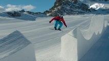 Snowboard - Pierre Vaultier fait le buzz à Serre Chevalier