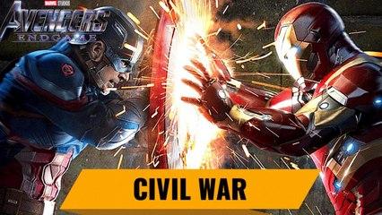 Avengers 4 Endgame Countdown: Captain America Civil War
