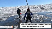 Scientists Find Winter Rain Is Causing Sudden Ice Melting Events In Greenland