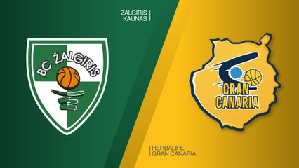 EuroLeague 2018-19 Highlights Regular Season Round 25 video: Zalgiris 98-64 Gran Canaria