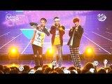 [MPD직캠 4K] 엑소-CBX (첸백시) The one 직캠 EXO-CBX Fancam @엠카운트다운_161103