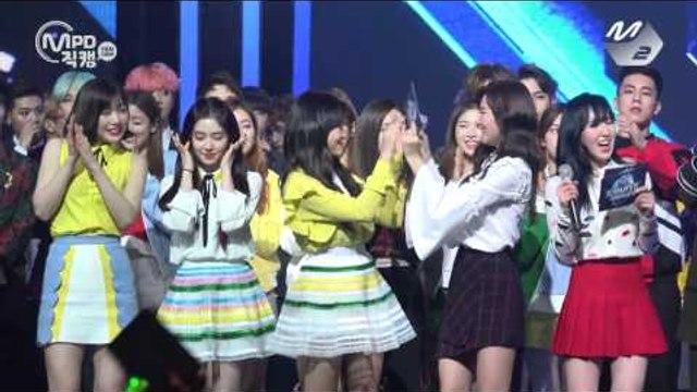 [MPD직캠 4K] 레드벨벳 1위 앵콜 직캠 Red Velvet Rookie Fancam No.1 Encore full ver. MNET MCOUNTDOWN 170216