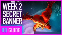 Fortnite: Battle Royale - Season 8 Week 2 Secret Banner Location Walkthrough