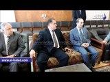 صدى البلد | مساعد وزير الداخلية لقطاع غرب الدلتا ومدير امن مطروح يتفقدون المحطة النووية بالضبعة