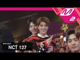 [2017MAMA x M2] NCT 127 Reaction to 슈퍼주니어's Performance