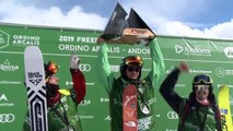Highlights from the Freeride World Tour in Andorra