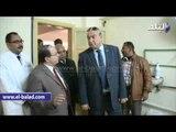 صدى البلد |  محافظ المنيا يتفقد مستشفى التكامل الصحي بسمالوط