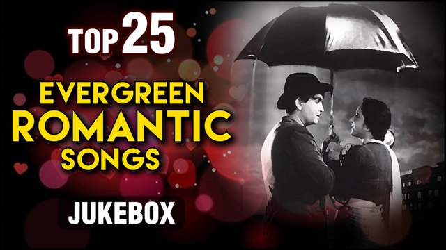Best of Evergreen Romantic Songs - Top 10 Old Hindi Romantic