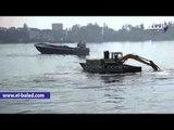صدى البلد | محافظ البحيرة ومدير الامن يقودان حملة لإزالة الاقفاص السمكية بفرع نهر النيل بالمحمودية