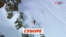 Le run gagnant de Marion Haerty en Andorre - Adrénaline - Snowboard freeride