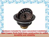 35 Kitchen Strainer Drain for Copper Sink