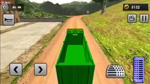 Uphill Gold Transporter Truck Drive - Drive Luxury Trucks Off-Road Mountain - Android Gameplay FHD