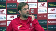 Klopp on title challenge as Liverpool prepare to face Burnley in the English Premier League