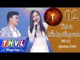 THVL | Tình ca Việt 2015 - Biển bạc đồng xanh | Tình ta biển bạc đồng xanh - Quang Linh, Mỹ Lệ