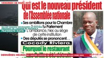 Le Titrologue du 08 Mars 2019 : Qui est Amadou Soumahoro le nouveau président de l'assemblée nationale