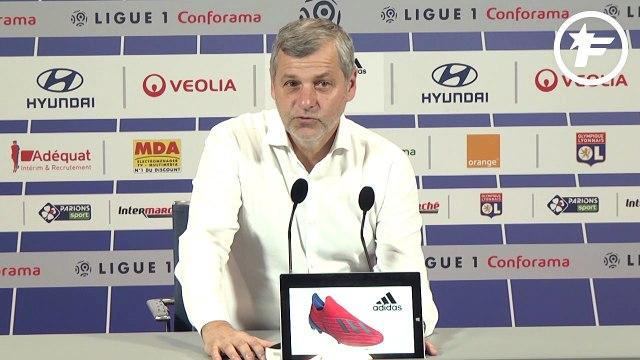 LdC : Bruno Genesio évoque l'élimination du PSG et les chances de l'OL