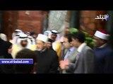 صدى البلد | وصول الإمام الأكبر للجامع الأزهر استعدادا لزيارة العاهل السعودي