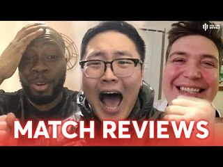 WHO CALLED THE COPS?! Match Reviews PSG 1 - 3 Manchester United