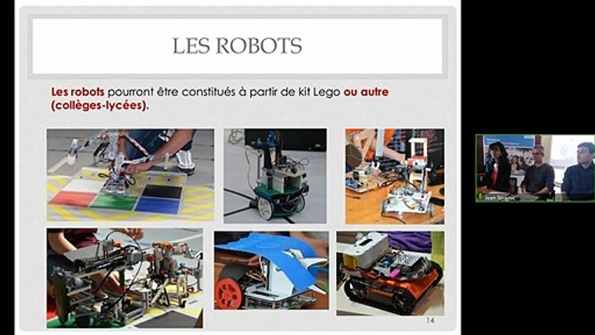 Conférence ITER Robots - S. Andre