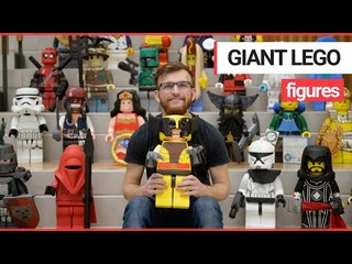 Handmade Lego characters made by college students are set to be auctioned off for charity | SWNS TV