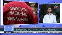 Venezuela: compromiso obrero para defender la productividad del país