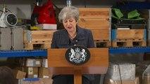 "Brexit : Theresa May demande un ""effort supplémentaire"" à Bruxelles"