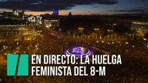 Sigue en directo la huelga feminista del 8-M