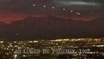 As Luzes de Phoenix, OVNI Avistado Sobre Cidade por MILHARES de Pessoas