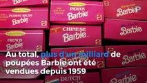 La célèbre poupée Barbie fête ses 60 ans