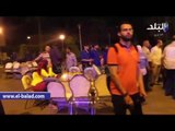 صدى البلد   طلاب التربية العسكرية بجامعة القاهرة يأمنون السحور الجماعي بالأمر