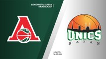 Lokomotiv Kuban Krasnodar - UNICS Kazan Highlights | 7DAYS EuroCup, QF Game 2