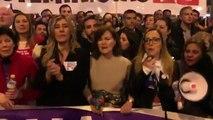 """Begoña Gómez: """"¿Dónde están? No se ven las banderas del PP"""""""