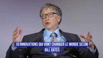 10 innovations qui vont changer le monde selon Bill Gates