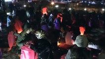 Cinayete kurban giden 440 kadın için 440 fener uçurdular - VAN