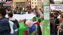 Manifestations en Algérie : des milliers de personnes mobilisées  à Alger