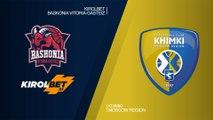KIROLBET Baskonia Vitoria-Gasteiz - Khimki Moscow region Highlights   EuroLeague RS Round 25
