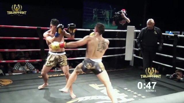 Triumphant Combat Sports Highlight Fight 3
