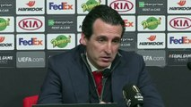 Arsenal boss Unai Emery looks ahead to Manchester United match in EPL
