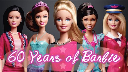 60 Years Of Barbie