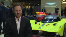 Aston Martin Lagonda at the Geneva Motor Show 2019 - Interview Christian Horner
