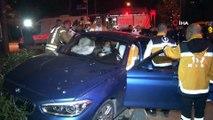 Bakırköy'de kırmızı ışıkta geçen sürücü seyir halindeki araca çarptı: 2 yaralı