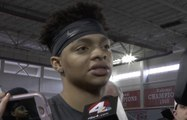 Ohio State's Justin Fields shares first impressions of Buckeyes
