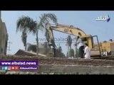 صدى البلد | الري تبدأ حملة لإزالة التعديات على مجري النيل بالمنيا