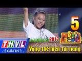 THVL   Thử tài siêu nhí 2017 – Tập 5[6]: Nhảy Jazz Funk Hiphop - Mai Anh